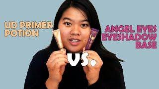 BoxyCharm Review: Angel Eyes Eyeshadow Base vs Urban Decay Primer Potion!! (Try on)