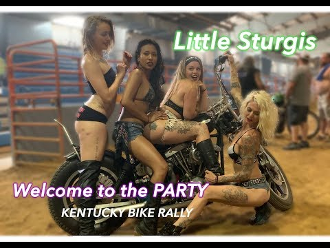 Little Sturgis Rally Biker Party Southern 21 Years Old No Children Kentucky Bike Adults Only Fun
