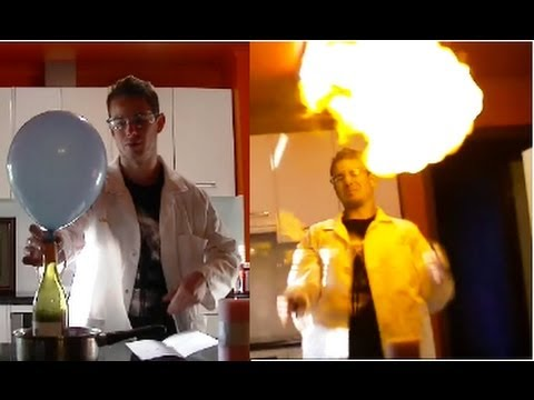 How to make hydrogen balloons youtube