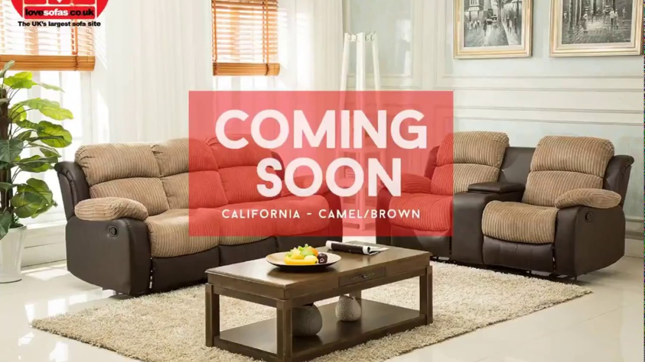 Lovesofas The New California Recliner Sofa Range