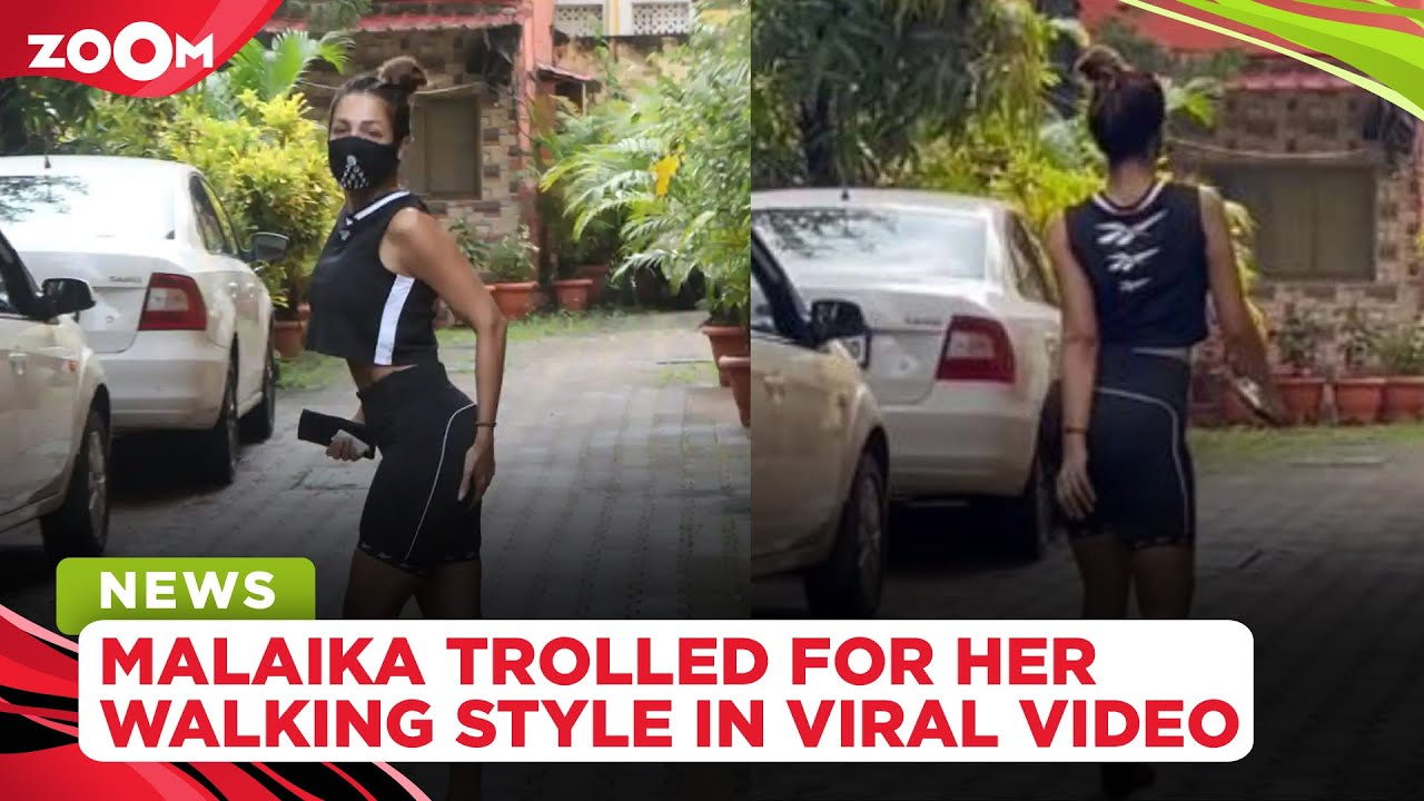 Download Malaika Arora brutally trolled for her 'weird' walking style in a viral video