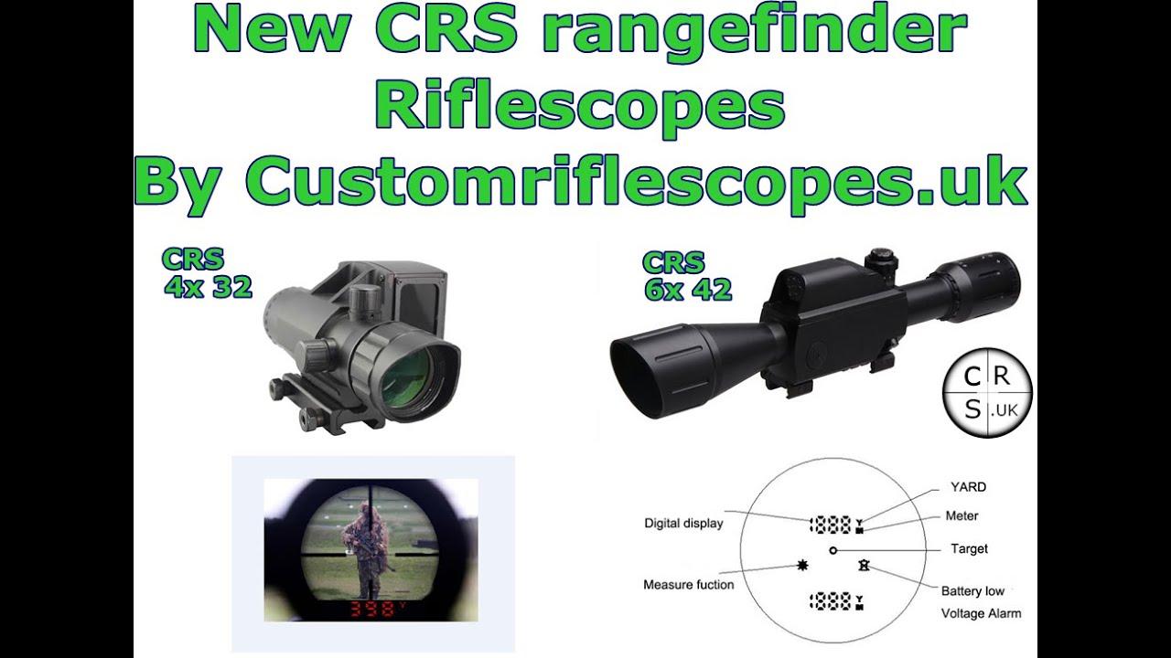 Rifle scope rangefinders x2 types