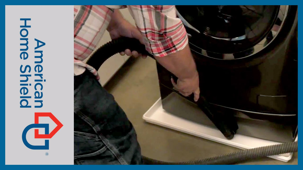 Washing Machine Repair How To Clean A Drain Pan Youtube