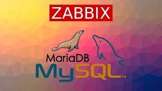 Monitor MySQL with ZABBIX