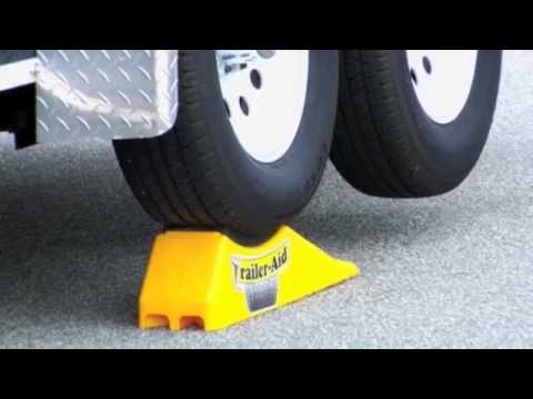 Change Your Trailer Tire In Minutes Without Unloading Trailer Aid And Trailer Aid Plus Youtube