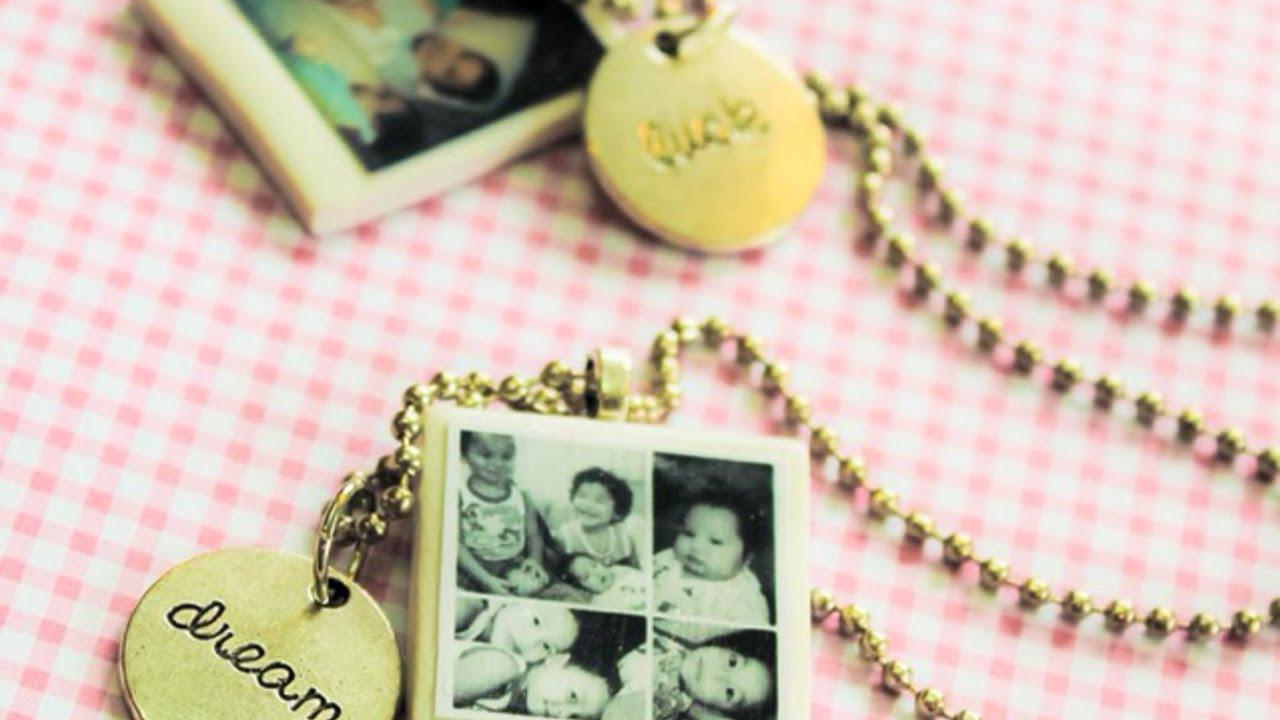 Cómo Hacer Collares Con Fotos Tipo Polaroid En Miniatura Hazlo Tu Mismo Estilo Guidecentral Youtube
