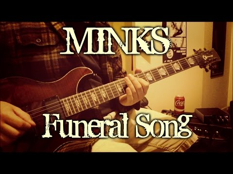 Minks - Funeral Song (guitar cover + TAB)