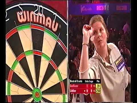 Gulliver vs Littler Darts Ladies World Championship 2006 Quarter Final
