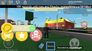 ROBLOX-My Pikachu is giant and hungry