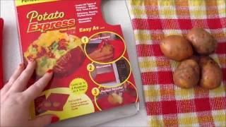 Пакет для запекания картофеля в микроволновке. Отзыв и видео-рецепт.