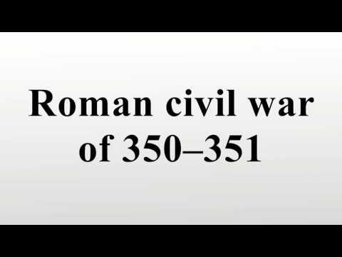 Roman civil war of 350–351
