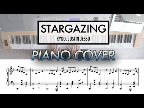 Stargazing - Kygo, Justin Jesso | Piano Cover with Sheet