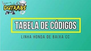 Códigos de erros da injeção das motos Honda: Lead, Biz, PCX, Fan/Titan, Bros, CB300, XRE300