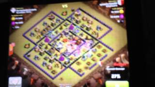 Clash of Clans | 3 Star GoWiWiPE in Clan Wars