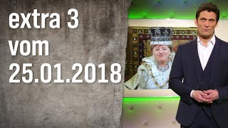 Extra 3 vom 25.01.2018