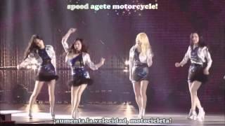 Gambar cover Girls Generation Motorcycle Tokyo Dome Sub Español