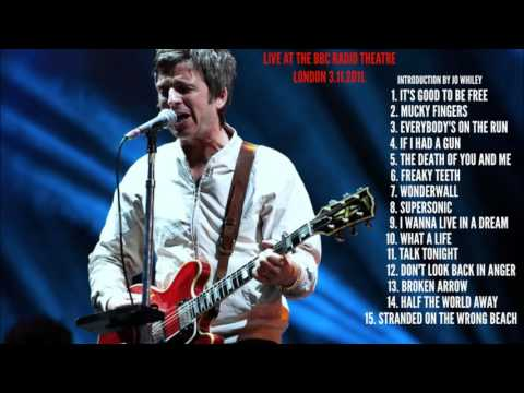 NOEL GALLAGHER'S HIGH FLYING BIRDS LIVE AT THE BBC RADIO THEATRE LONDON 2011.