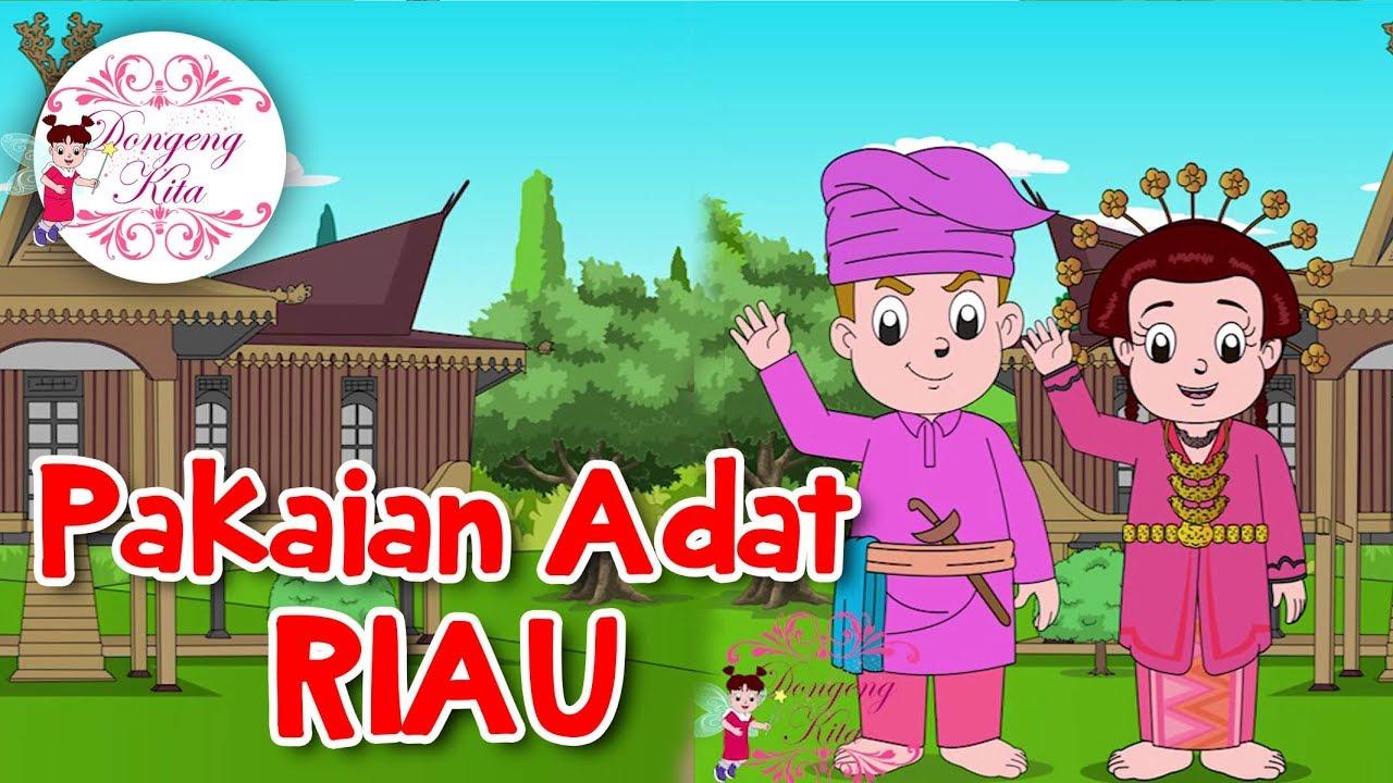 Pakaian Adat RIAU Budaya Indonesia