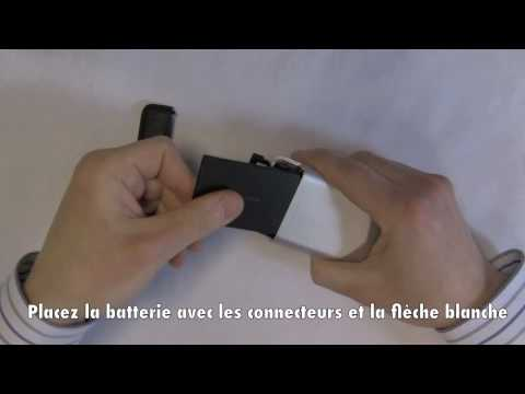 HTC Legend - Insérer la carte SIM