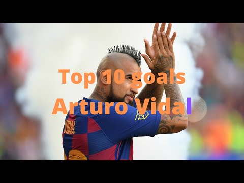 TOP 10 Goals Arturo Vidal