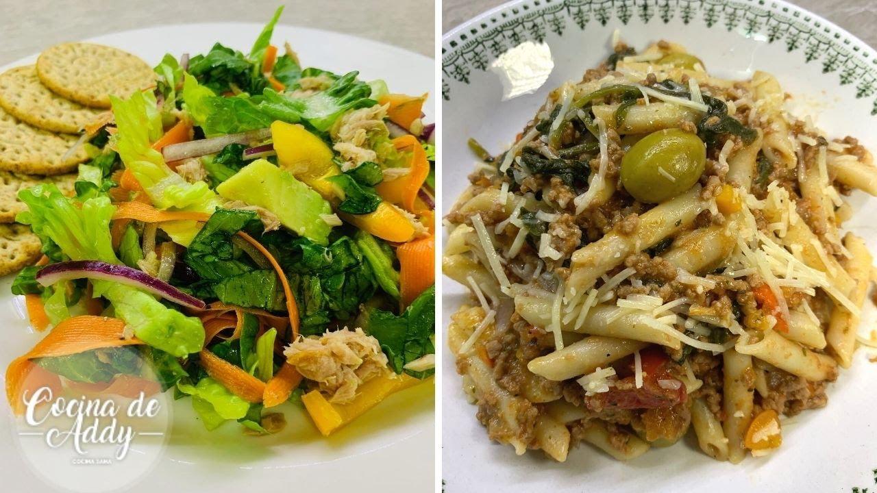 Comidas Saludables RÁPIDAS y económicas, Recetas Salvadoras cuando hay poco tiempo |Cocina de Addy