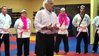 "Gary Calvino talks about upcoming ""Flames of Hope"" to survivers, 9/20/2012"