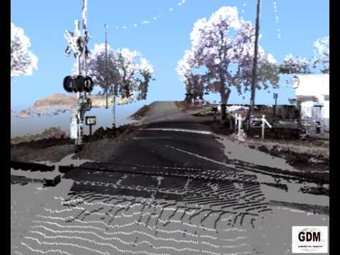 3D Laser Scan of a rail road accident scene