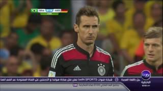 تقرير beIN SPORTS  عن مباراة  البرازيل 1 - 7 المانيا - نصف نهائي كأس العالم -  9 / 7 / 2014