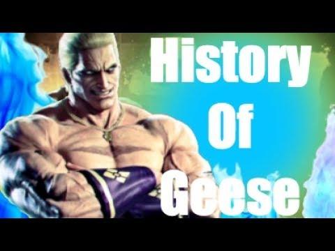 History Of Geese Howard Tekken 7/Fatal Fury