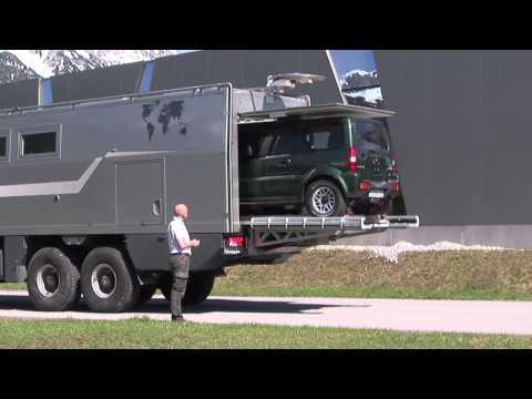 ACTION MOBIL - TECHNIK: Hebevorrichtung für Fahrzeuge
