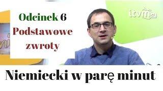 Niemiecki w parę minut - odcinek 6 -  podstawowe zwroty - gerlic.pl