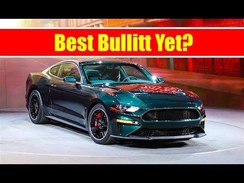 2018 Mustang Bullitt Is Here! 475+ Horsepower