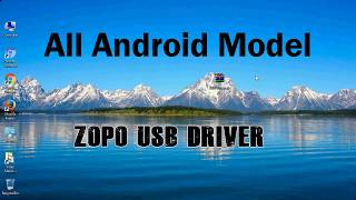 How to Install Zopo USB Driver for all Models   Android ADB interface