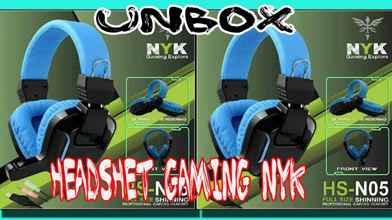 Unboxing Headset Gaming Nyk Hs N05 Youtube