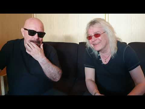 Magnum - Interview At Sweden Rock Festival 2019