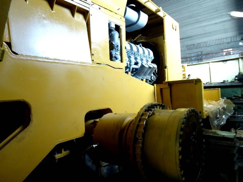 Капитальный ремонт фронтального погрузчика ПК 12 02Я производства ОАО Промтрактор