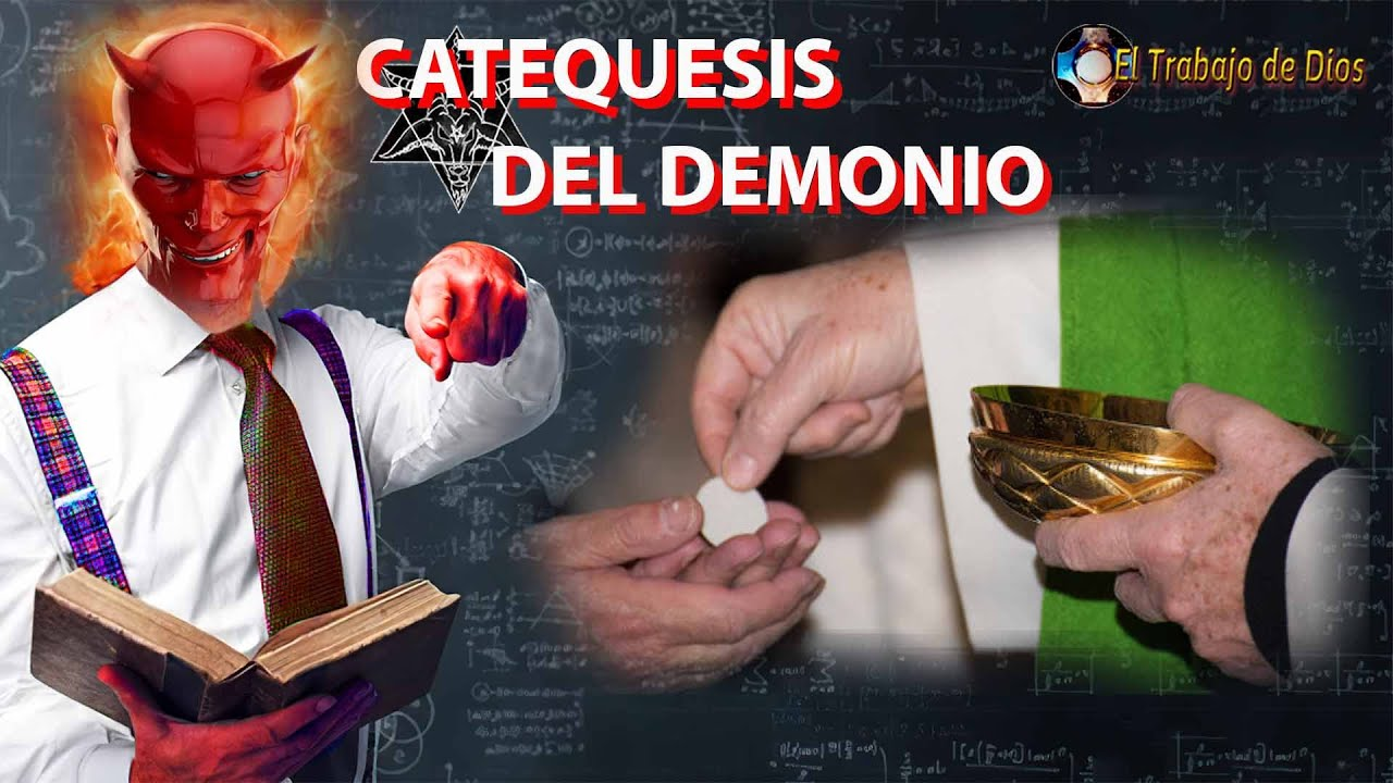 Catequesis del demonio 😈 Sacerdotes con mascarilla en el altar, Comunión en la mano, no arrodillarse