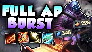 WHY DOES FULL AP JAX BURST THIS MUCH DAMAGE?! NEW FULL AP JAX TOP SEASON 7 - League of Legends