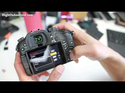 Panasonic Lumix DMC-GH4 Unboxing & Initial Review!