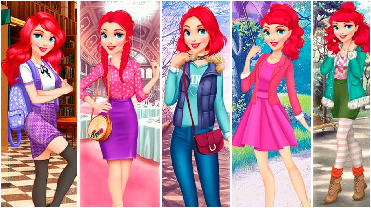 Fashionista dress up makeover games