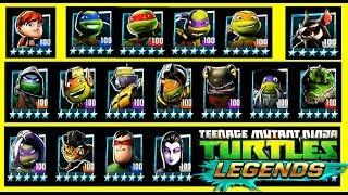 ВСЕ ГЕРОИ игры Черепашки ниндзя Легенды #220 Начало Турнира бой всех героев TMNT Legends
