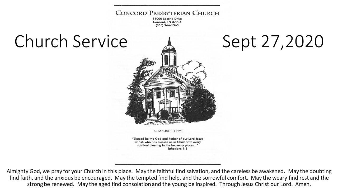 CPC Service Sept 27, 2020