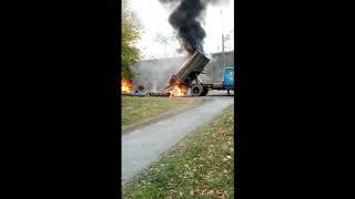 Сгорел на работе.