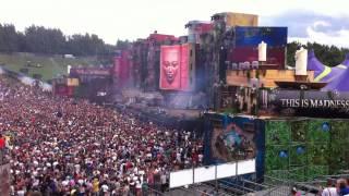 Tomorrowland 2012 (Glorious Sunday) - Intro Afrojack @ ID&T Mainstage