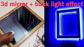Download lagu Make an LED illusion mirror 2 0 Latest backlight effect