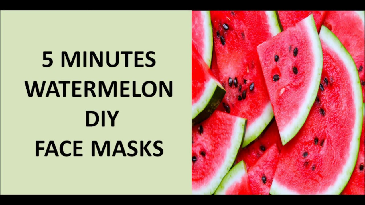 5 DIY Watermelon Face masks will do wonders on your face ...