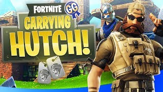 GETTING HUTCH THAT VICTORY ROYALE! - Fortnite: Battle Royale (Duos ft. Hutch)