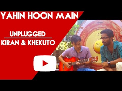 Yahin Hoon Main | Ayushmann Khurrana | Unplugged Cover By Kiran & Khekuto | UOM Students