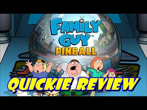 Family Guy Pinball PS3 - Quickie Review - Zen Pinball 2: Balls of Glory Pinball Pack