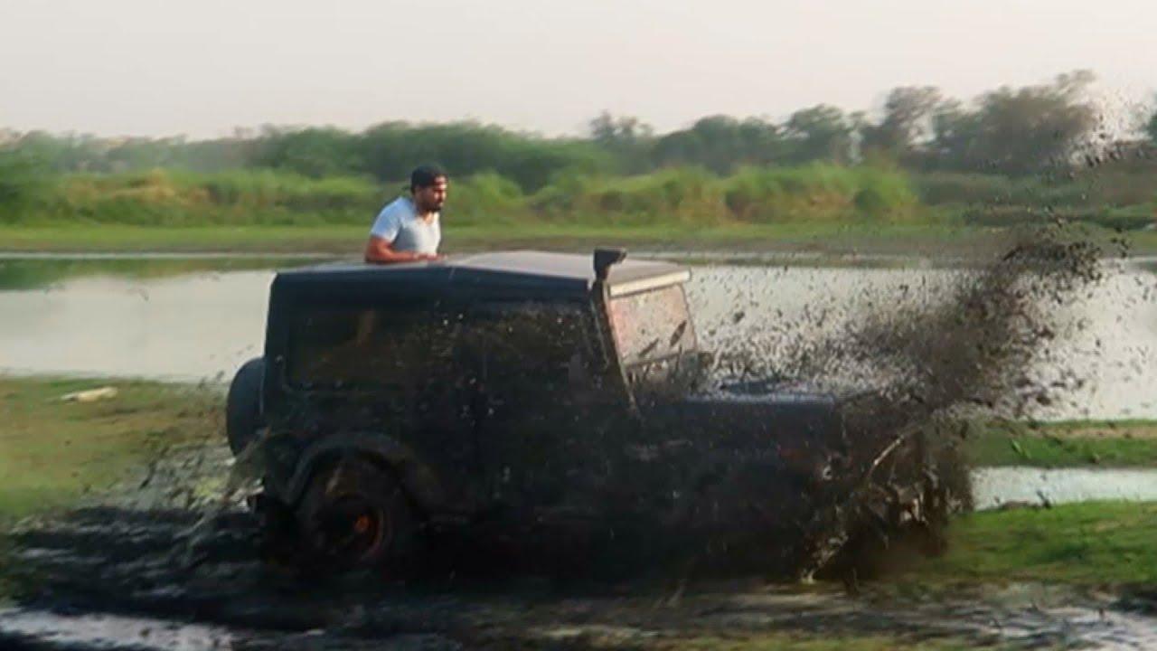 Dangerous Thar offroading in Mud